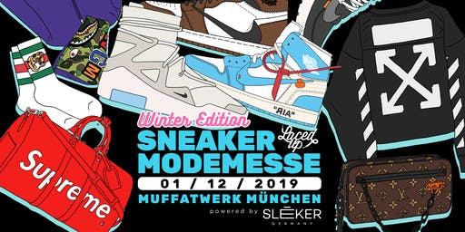 Laced Up Sneaker & Fashionmesse München Winter Edition 2019