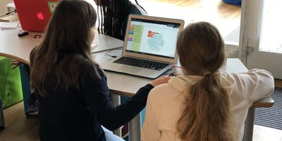 Code Week: Creative Coding  for Girls (8-12 Jahre)