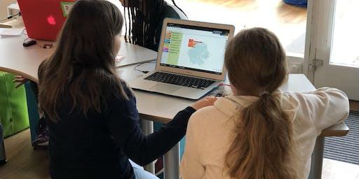 Code Week: Creative Coding  for Girls (8-12 Jahre)