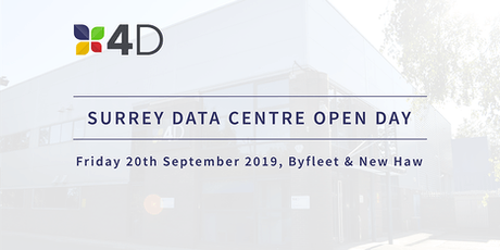 Surrey Data Centre Open Day: Tour your local Tier 3 Data Centre tickets