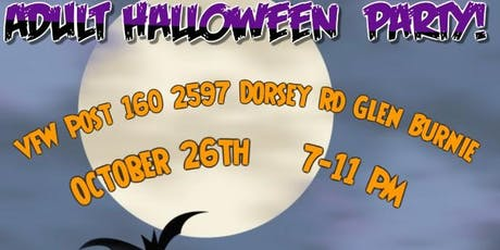 VFW Adult Halloween Party tickets
