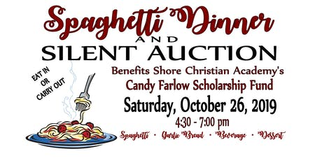 SCA Spaghetti Dinner and Silent Auction tickets