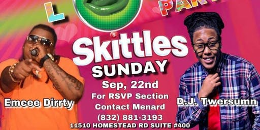 Sunday  Skittles Signal  Daytime Party