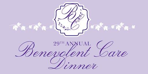 29th Annual Benevolent Care Dinner