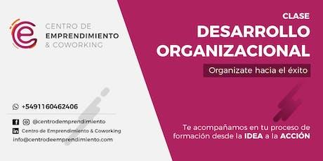 Desarrollo organizacional entradas