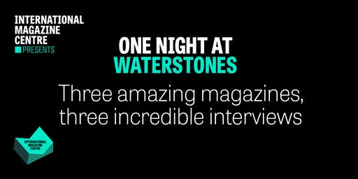 One Night at Waterstones