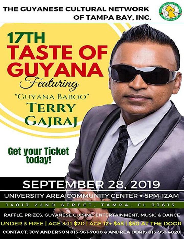 17th Taste of Guyana featuring Guyana Baboo image