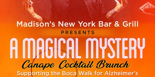 Magical Mystery Brunch for ALZ