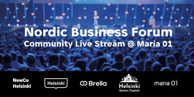 Nordic Business Forum Community Live Stream @ Maria 01