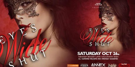 Eyes Wide Shut Masquerade Ball Midwest Largest Latin Halloween Party tickets