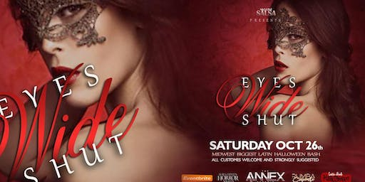 Eyes Wide Shut Masquerade Ball Midwest Largest Latin Halloween Party