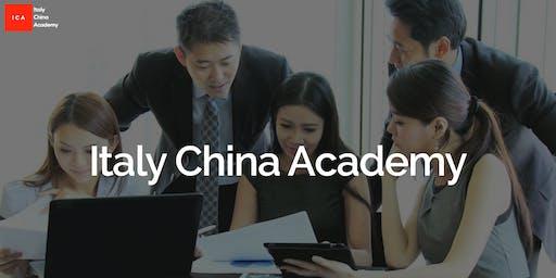 ITALY CHINA ACADEMY WORKSHOP