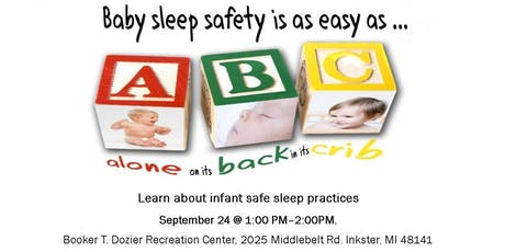 Safe Sleep Matters: Learn the ABC's of Infant Safe Sleep tickets