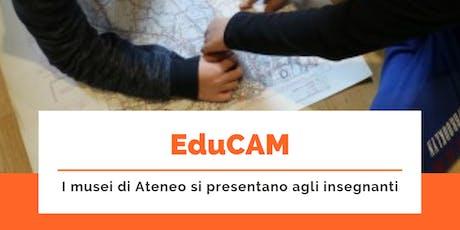 eduCAM - OPEN DAY PER GLI INSEGNANTI - Museo Botanico biglietti