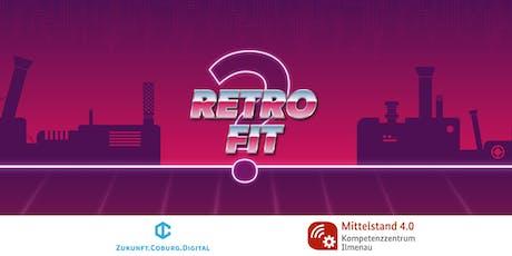 Retrofit: Wie Sensorik alte Maschinen fit für die Smart Factory macht Tickets