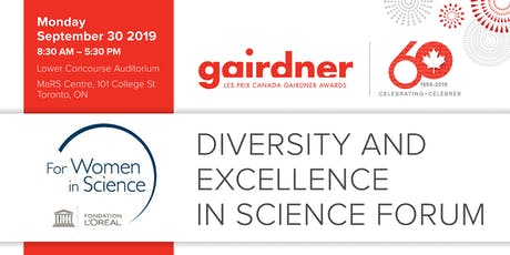 Gairdner/ L'Oréal -UNESCO Forum on Diversity and Excellence in Science tickets