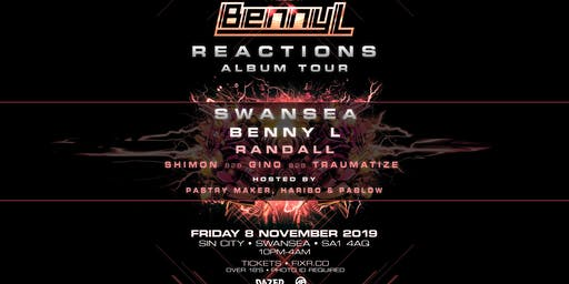 Benny L - Reactions Album Tour - Swansea