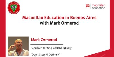 Macmillan Education in Buenos Aires with Mark Ormerod