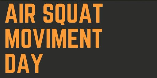 AIR SQUAT MOVIMENT DAY