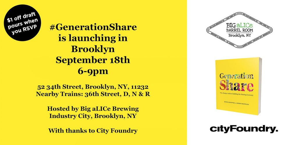 World Tour: Generation Share NY Launch at Industry City with
