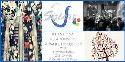 Intentional Relationships: Sisters U September 2019 Meeting