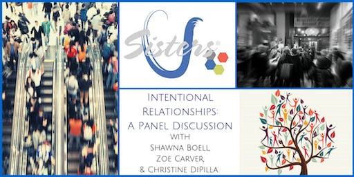 Intentional Relationships: Sisters U September 2019 Meeting