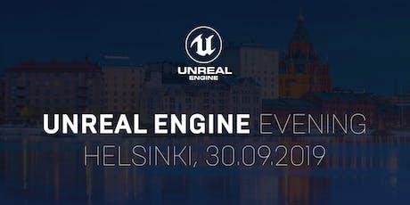 Helsinki Unreal Engine Evening 2019 tickets