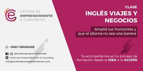 Inglés: viajes y negocios entradas