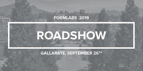 Roadshow Formlabs Gallarate 2019 biglietti