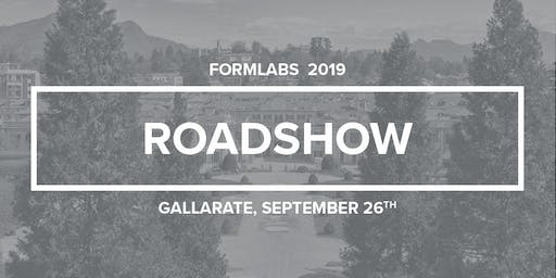 Roadshow Formlabs Gallarate 2019