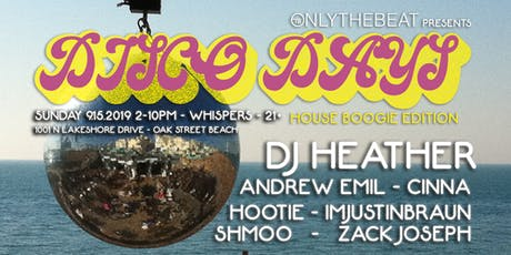 Onlythebeat Presents: Disco Days w/DJ Heather tickets