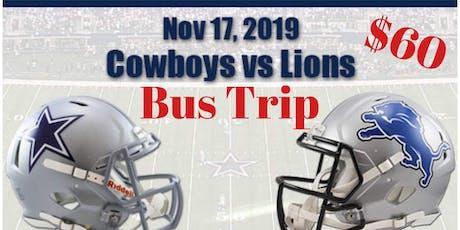 Detroit VS DALLAS BUS TRANSPORT tickets
