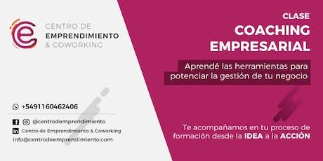 Coaching Empresarial entradas