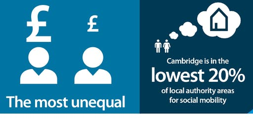 How can your business help people living in poverty in Cambridge?