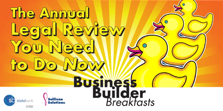 The Annual Legal Review You Need to Do NOW! tickets