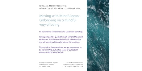 Moving with Mindfulness Workshop tickets