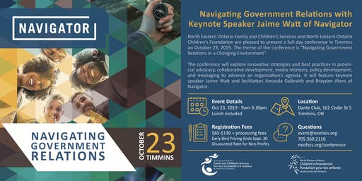 Navigating Government Relations Conference with Keynote Speaker Jaime Watt