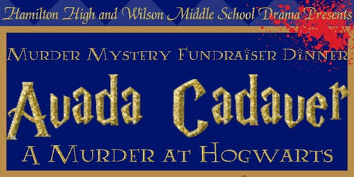 Harry Potter Murder Mystery Fundraiser Dinner