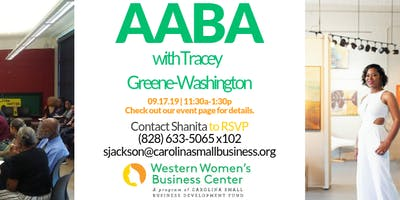 AABA with Tracey Greene-Washington
