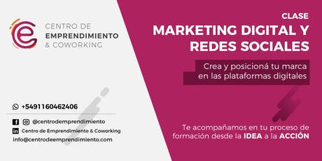 Marketing digital y redes sociales entradas