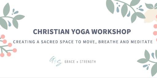 """FACING THE STORM"" | Grace x Strength + Glow-ga Christian Yoga Connect"
