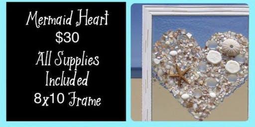 Mermaid Heart Fram