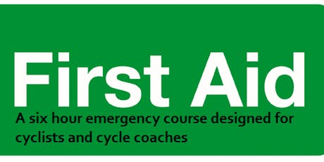 First Aid for coaches and cyclists October 2019 tickets