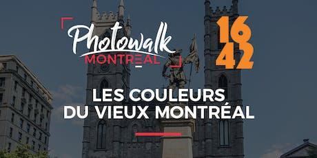 Photowalk dans le Vieux Montréal   En partenariat avec 16/42 Tours guidés billets