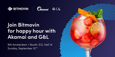 IBC Happy Hour with Akamai and G&L!