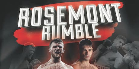 Hitz Boxing Presents: THE ROSEMONT RUMBLE tickets