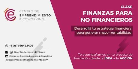 Finanzas para no financieros entradas