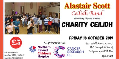 Charity Ceilidh - NI Children's Hospice/Cancer Research