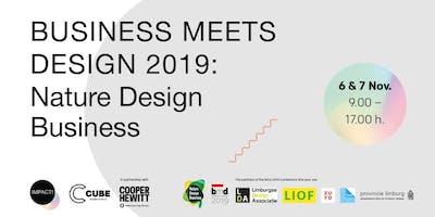 Business meets Design 2019: Nature Design Business
