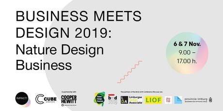 Business meets Design 2019: Nature Design Business tickets